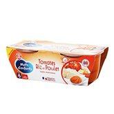 Bol complet Mots d'Enfants Tomate/riz/poulet 6mois -2x200g