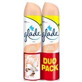 Glade by brise aérosol classique duopack vanille