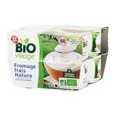 Fromage frais Bio Village Nature - 8x100g