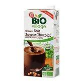 Boisson au soja Bio Village Chocolat - 1L