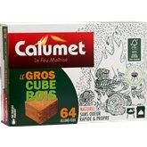 Gros cubes allume-feu Calumet En bois - x64