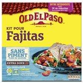 Kit pour Fajitas sans piment Old el Paso