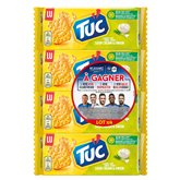 LU Tuc - Crackers Cream & Onion le lot de 4 paquets de 100 g