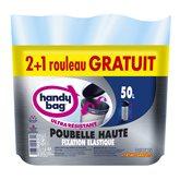 Sacs poubelle Handy Bag 50L -