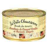 Manchons de canard confits et haricots lingots - 1250g