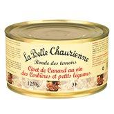 Civet de canard Vin et petits légumes - 1350g