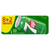 SEVEN UP regular can boîte 8x33cl