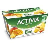 Danone Yaourt Activia Duo Mangue Ananas - 2x145g