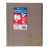 Clairefontaine Cahier Koverbook Clairefontaine Noir 17x22cm 160pages