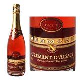 Rebmann Crémant d'Alsace  Rosé brut 75cl