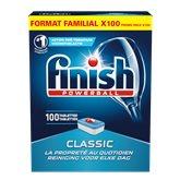 Finish Tablettes lave-vaisselle  Classic - x100 - 1.633kg