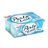 Yoplait Yaourts Perle de lait Yoplait Nature - 4x125g