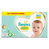 Pampers Couches Pampers Premium Protection T4 : 9/14kg - x96