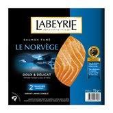 Labeyrie Saumon fumé  Norvège 2 tranches - 75g