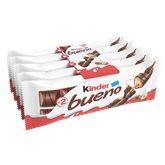 Kinder Barres chocolatées Kinder Bueno 5x2 barres - 215g