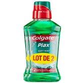 Colgate Bain de bouche Colgate Plax Softmint 24h - 2x500ml