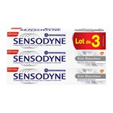Sensodyne Dentifrice Sensodyne Soin blancheur - 3x75ml