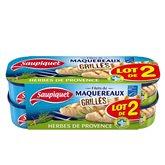 Saupiquet Maquereaux grillé  Herbes de provence - 2x120g