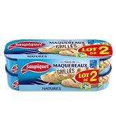 Saupiquet Maquereaux grillé  Nature - 120g