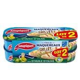 Saupiquet Maquereaux  Huile d'olive - 2x120g