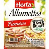 Herta Allumettes fumées Herta 2x75g