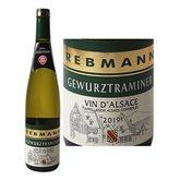 Rebmann Vin blanc Rebmann Gewurztraminer AOC - 75cl