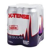 X-tense Boisson énergisante X-tense Canette - 4x50cl