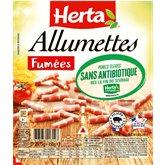 Herta Alumettes fûmées sans antibio Herta - 150g