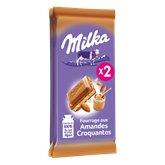Milka Milka amande croquante 2x90g