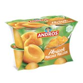 Andros Compote Andros Abricot Morceaux - 4x100g