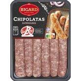 Bigard Chipolatas label rouge Bigard x6 - 330g