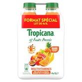 Tropicana Jus de fruits Tropicana Multivitaminés - 4x1L