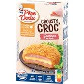 Père Dodu Crousty Croc' Jambon Père Dodu Dinde x2 - 200g