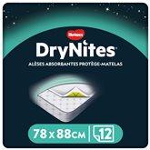 Huggies Alèses jetables Huggies Drynites - x12