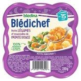 Blédina Plats cuisinés Bledichef Bledin Petits legs patate douce - 250g