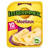 Leerdammer Fromage Leerdammer Le Moelleux x10 - 250g