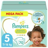 Pampers Couches Pampers Premium Protection Taille 5 - x70