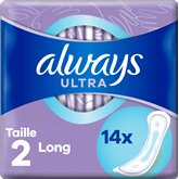 Always Serviettes hygiéniques Always Ultra Long Taille 2 - x14