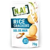 [N.A!] Nature Addicts Crackers Rice N.A! Sel de Mer - 70g