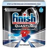 Finish Tablettes lave-vaisselle Finish Ultimate Quantum - x35 - 438g