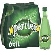Perrier Eau minérale naturelle gazeuse Perrier - 6x1L