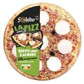 Sodeb'O Pizza Sodebo Chèvre lardons - 470g